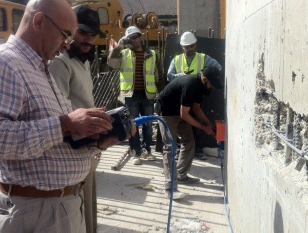 monitoring structural cement