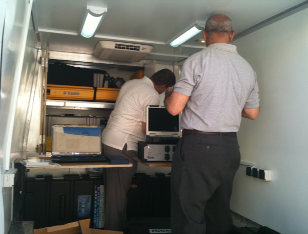 On-site mobile lab